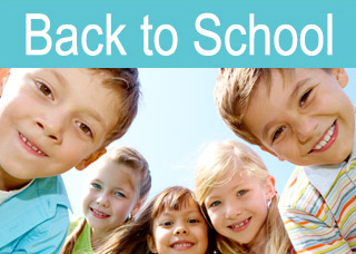 Back to School: Fill the backpacks. Lace up those shoes. Get going.