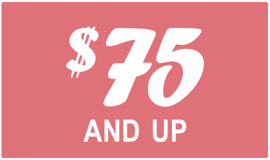 Shop Gifts $75 and Up