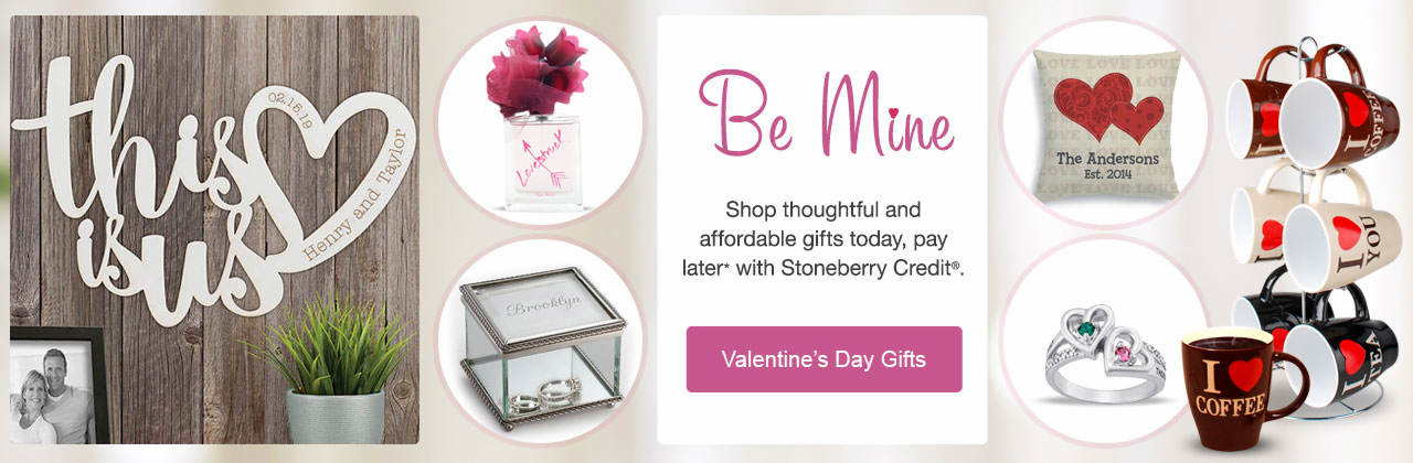 Shop from a list of  thoughtful and affordable gift ideas today, pay later with Stoneberry Credit.