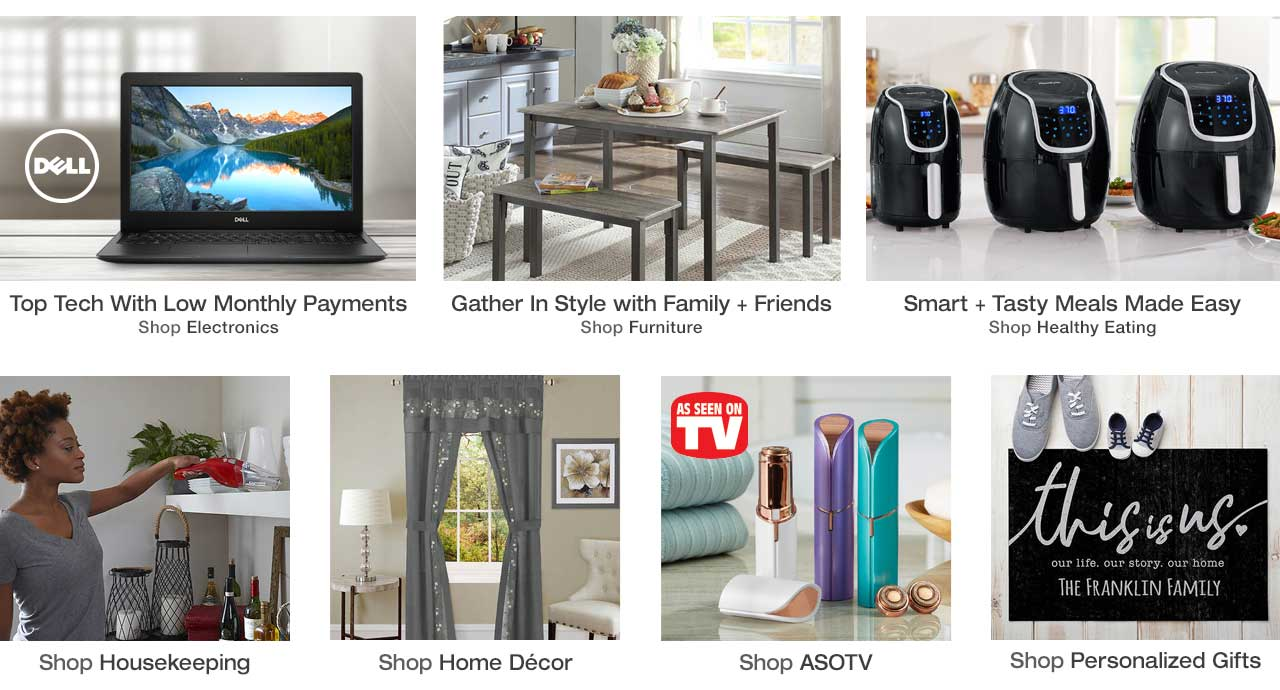 Shop top electronics, furniture, healthy eating, housekeeping essentials, home decor, As Seen on TV and personalized products today, pay later with Stoneberry Credit.