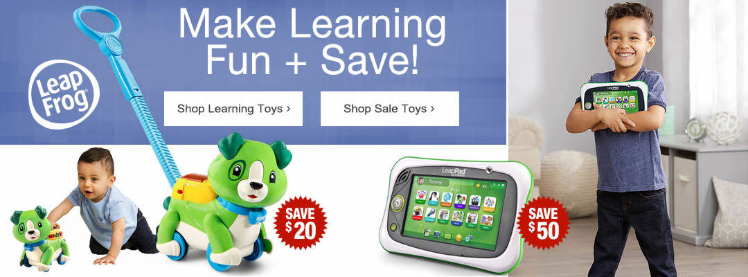 Make Learning Fun and Save. Shop Learning Toys and Toys on Sale.