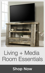 Shop Living + Media Room Furniture