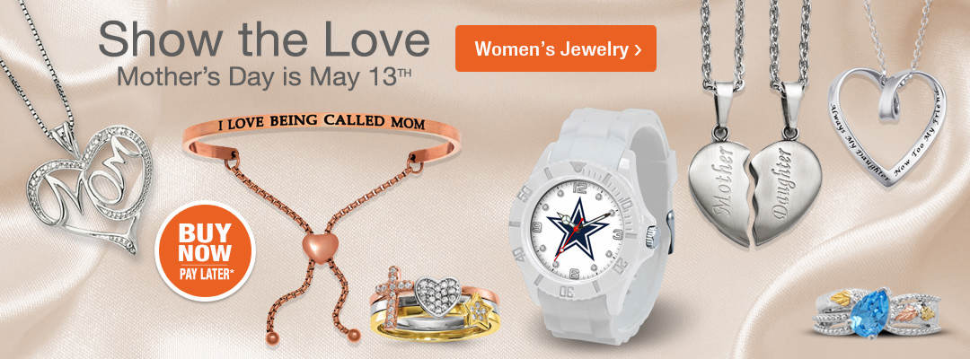 Show that special woman the love for Mother's Day. Shop Women's Jewelry now.