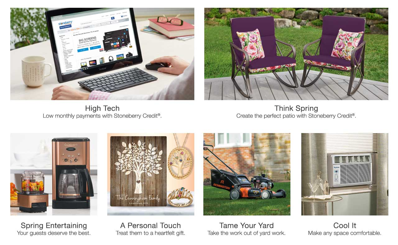 Mother's Day is May 12; shop now, pay later. Create your outdoor oasis with patio, lawn and garden essentials. Low monthly payments on Top Tech. Treat them to a heartfelt gift with personalized items. Order by April 18 to receive in time for Mother's Day. Shop toys for their Easter baskets. Step up your spring entertaining with new and beautiful essentials.