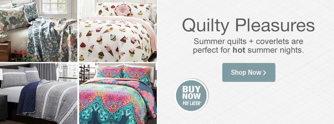 Blissful surroundings await with new arrivals in bedding. Shop now.