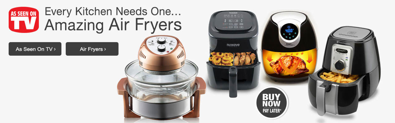 Every kitchen needs an amazing air fryer! Shop them today, as well as all our exciting As Seen On TV products.
