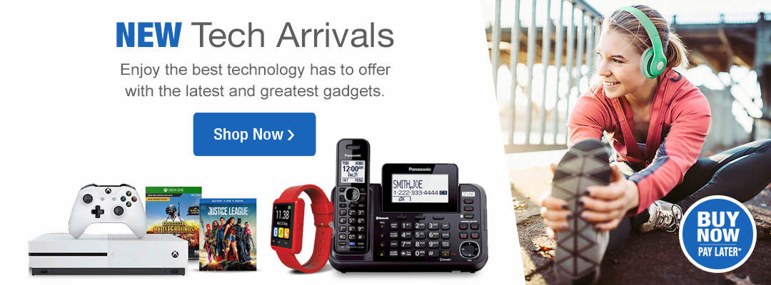 Enjoy the best technology has to offer with the latest and greatest gadgets! Shop new tech arrivals now!