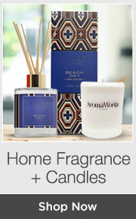 Shop Home Fragrance + Candles