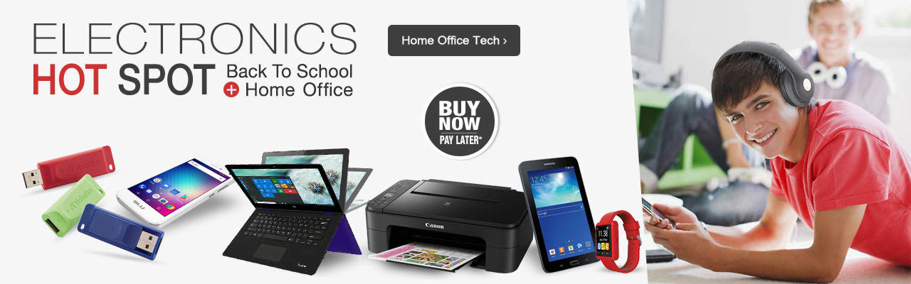 The best tech for home office and back to school are here. Shop now.