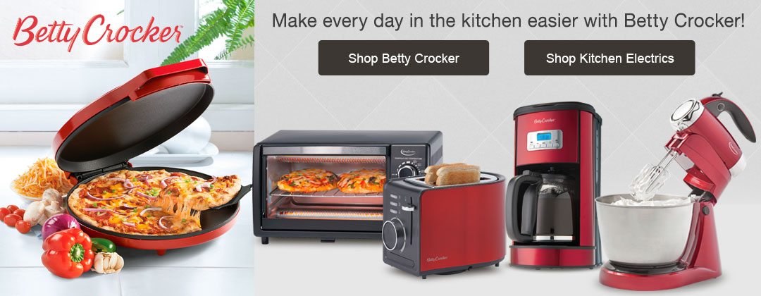 Enjoy better meals + desserts with Betty Crocker kitchen essentials, as well as all our other fantastic kitchen electrics. Shop now, pay later with Stoneberry Credit.