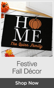 Shop Festive Fall Decor