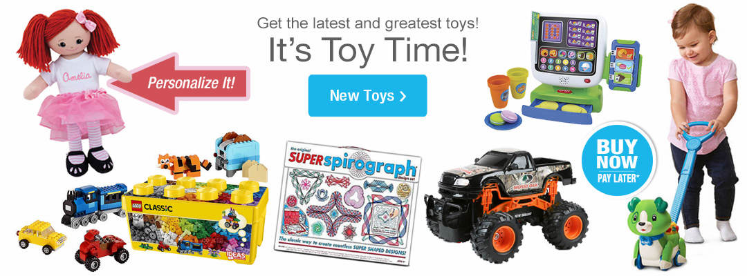 The latest and greatest toys are here. Shop New Toys Now.