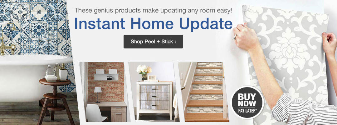 These genius products make updating any room easy!. Shop peel and stick items now.