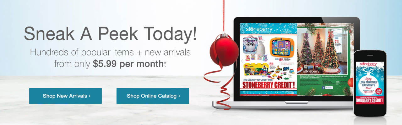 Shop new arrivals as featured in the new catalog!