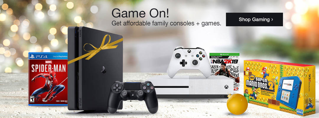 Get affordable family consoles and games. Shop gaming now.