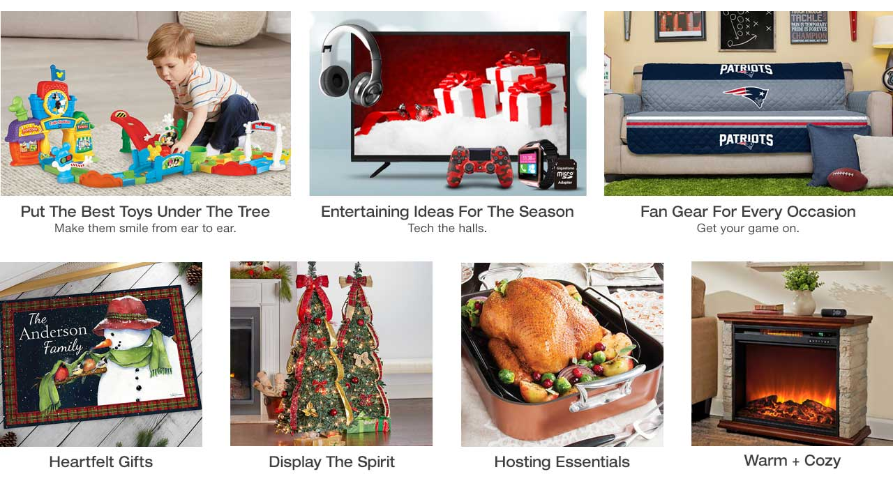 Find toys for kids of all ages, as well as fireplaces and heaters for the home. Stock up on supplies for holiday hosting, find personalized items, top tech, holiday decor and NFL fan gear today, pay later with Stoneberry Credit.