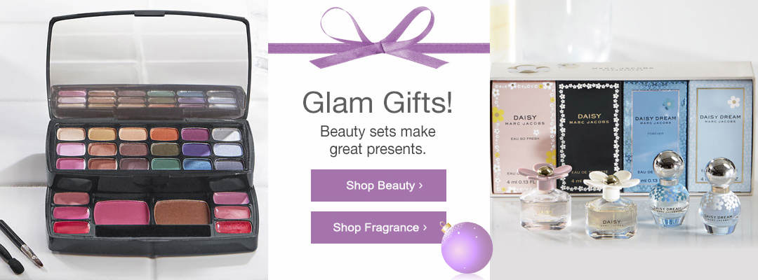 Beauty sets make great glam gifts. Shop Beauty and Fragrance now.