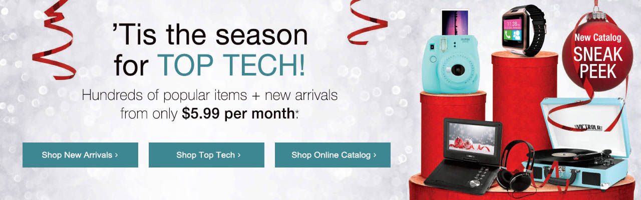 Shop new arrivals as featured in the new catalog, including top tech for the season!