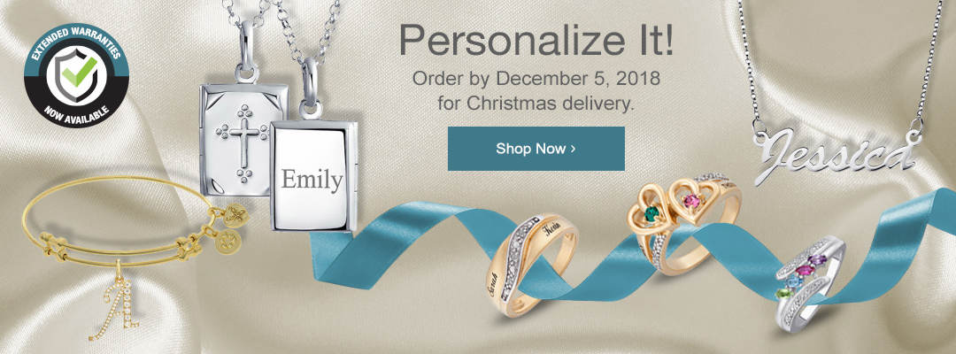 Make it personal with personalized jewelry from Stoneberry. Shop now.