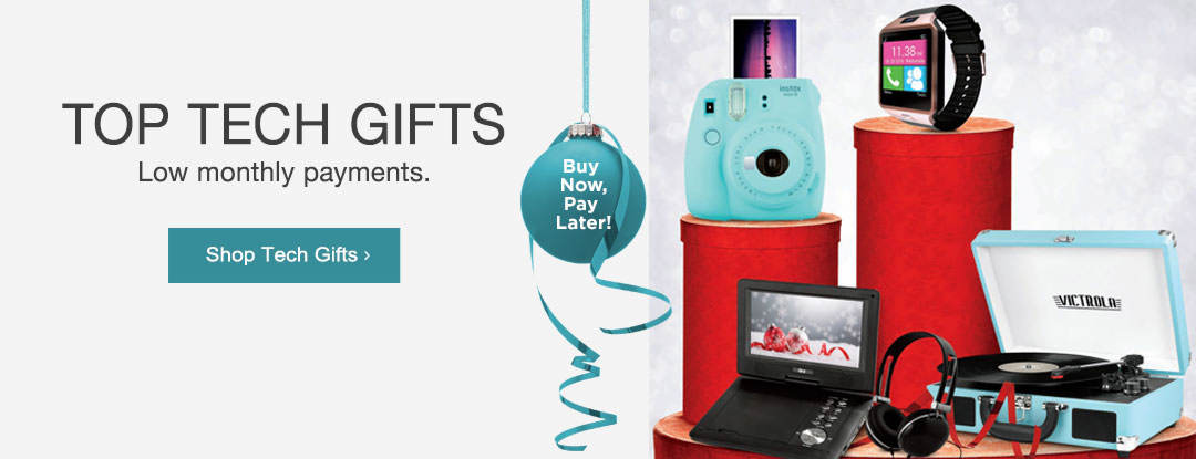 Shop top tech gifts with low monthly payments.