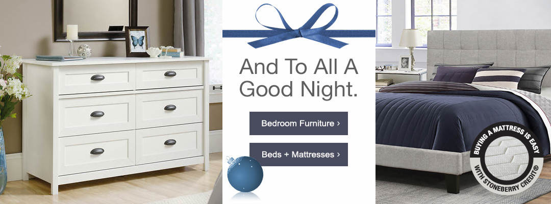 Upgrade your furnishings now in time for holiday gatherings, pay later. Shop Bedroom Furniture and Beds + mattresses now.