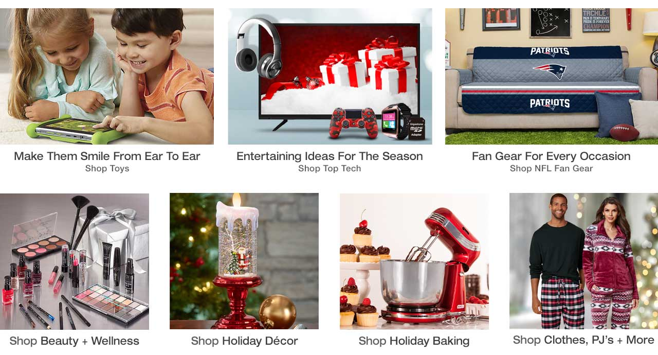 Find toys for kids of all ages, as well as fireplaces and heaters for the home. Stock up on supplies for holiday baking, find personalized items, top tech, holiday decor and NFL fan gear today, pay later with Stoneberry Credit.