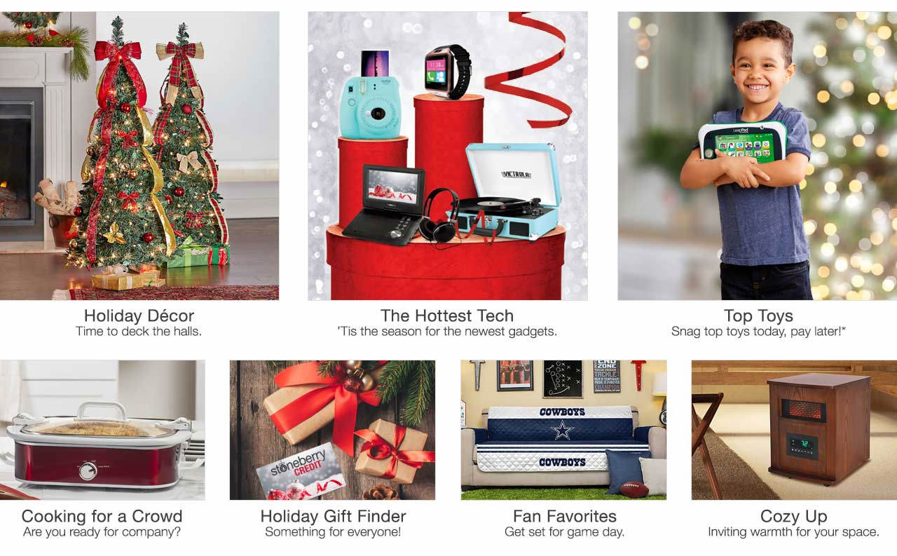 Stay warm and cozy in style with heaters for the home. Deck the halls with holiday decor. Get set for game day with fan gear. Spark their imaginations with toys. Holiday hosting time is here. Get the gear. Wrap up your holiday shopping with our gift finder, something for everyone on your list. Tis the season for top tech.