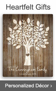 Shop Personalized Decor