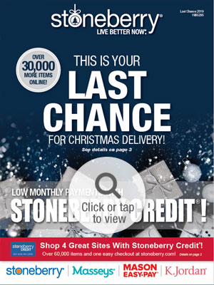 Browse the Holiday Last Chance 2019 Online Catalog
