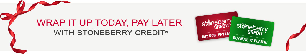Wrap It Up Today, Pay Later With Stoneberry Credit