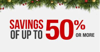 Shop Holiday Savings