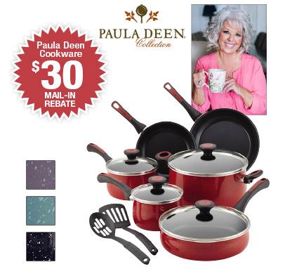 Shop Paula Deen's 12-piece Cookware Sets
