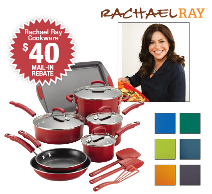 Shop Rachael Ray's 14-piece Cookware Sets