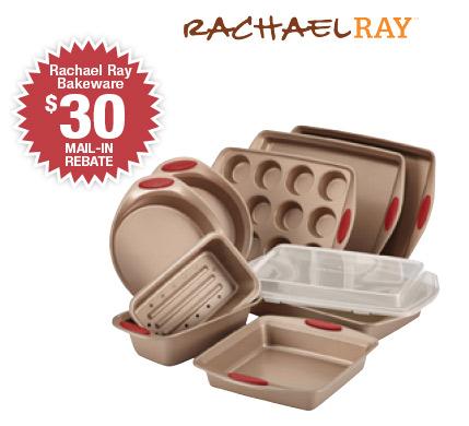 Shop Rachael Ray's 10-piece Bakeware Set