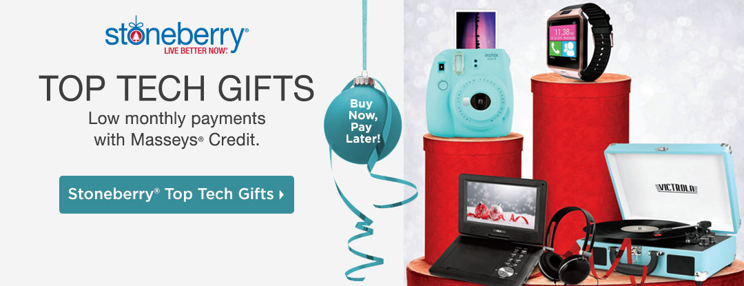 Shop top tech gifts. Low monthly payments with Mason Easy-Pay Credit!