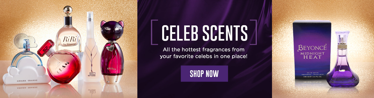 Celeb Scents - All the hottest fragrances from your favorite celebs in one place! Shop Now