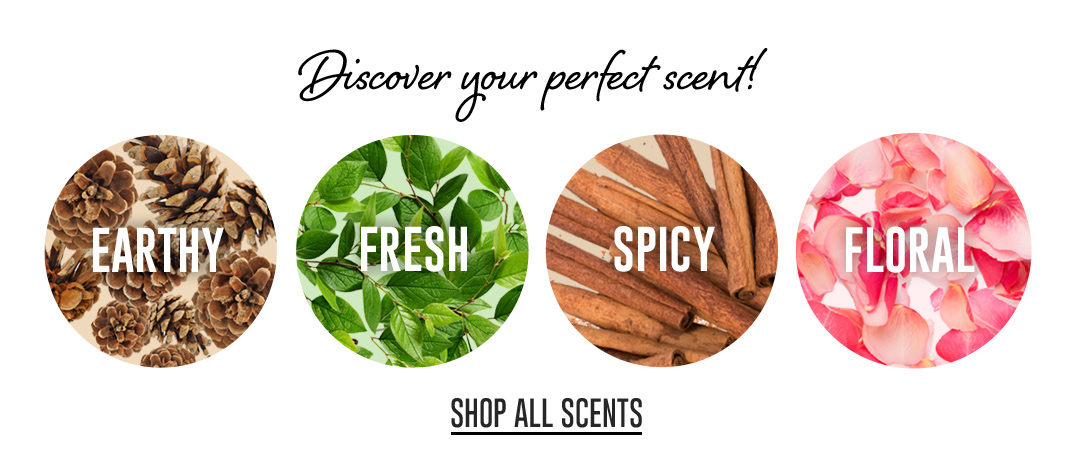 Discover your perfect scent! Shop Our Fragrance Finder!