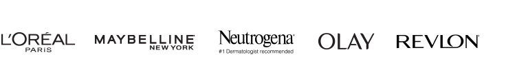 Shop Top Beauty Brands Like Neutrogena, Maybelline, Olay and More!