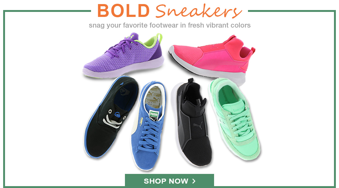 Bold Sneakers - Shop Now.