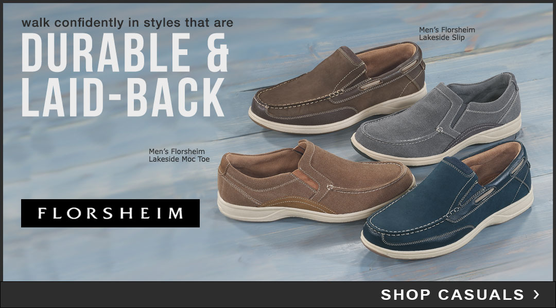 Durable & Laid-back Styles - Shop Casual.