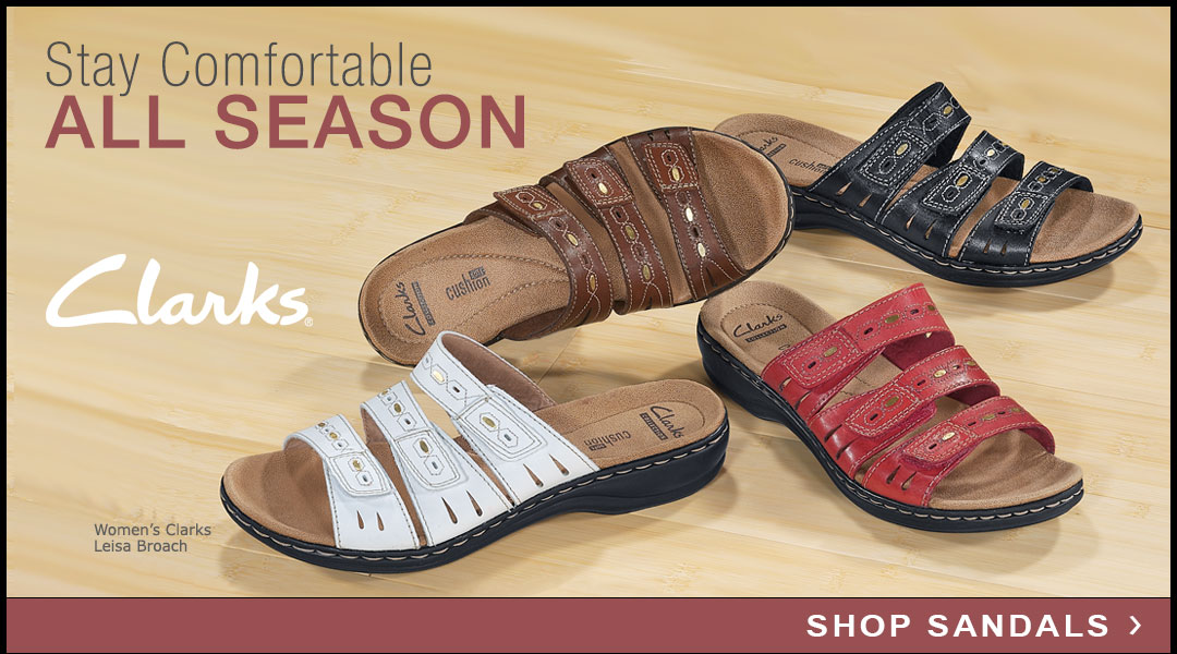 Stay Comfortable All Season - Shop Sandals.
