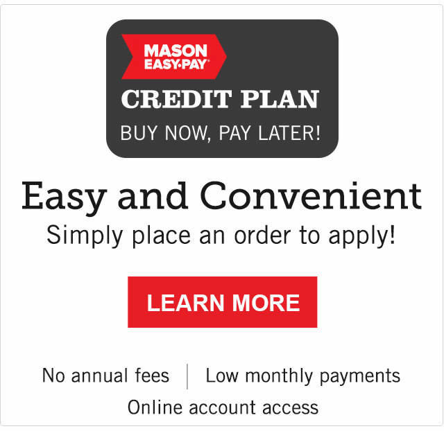 Learn About Mason Easy-Pay Credit