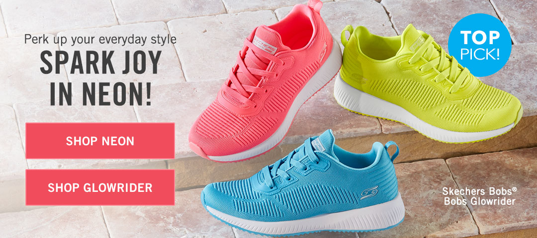 Perk up your everyday style. Spark joy in neon!