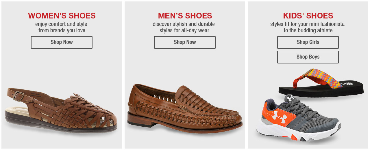 Shoes for the Whole Family.