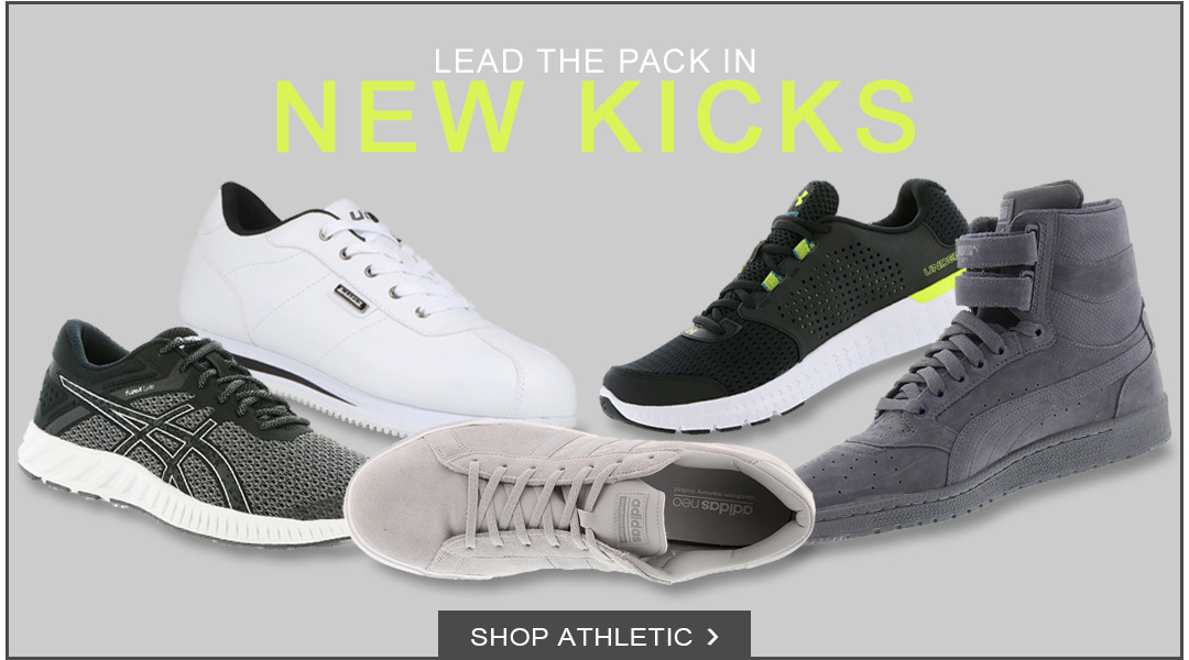 Lead the Pack in New Kicks - Shop Athletic.