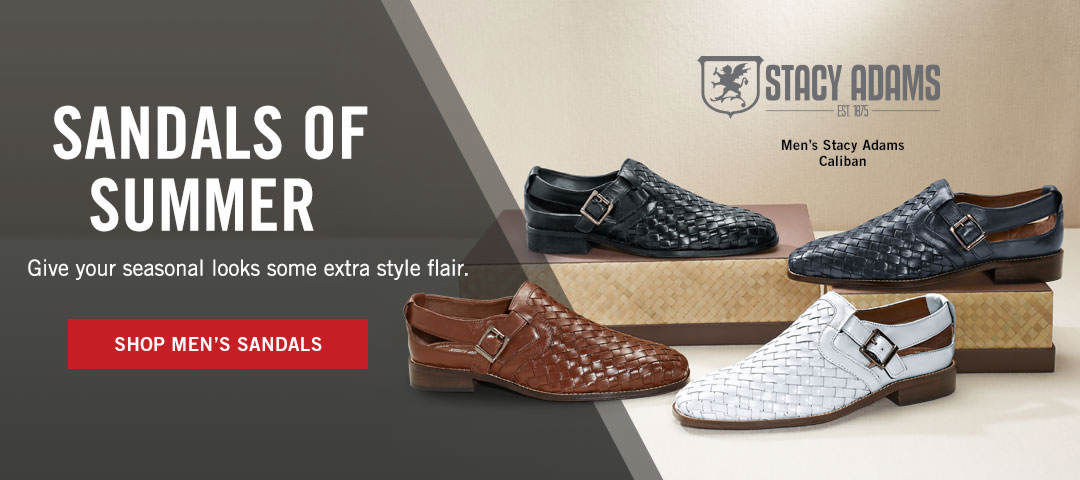 dbd68e0a3 Sandals of Summer - Shop Men s Sandals