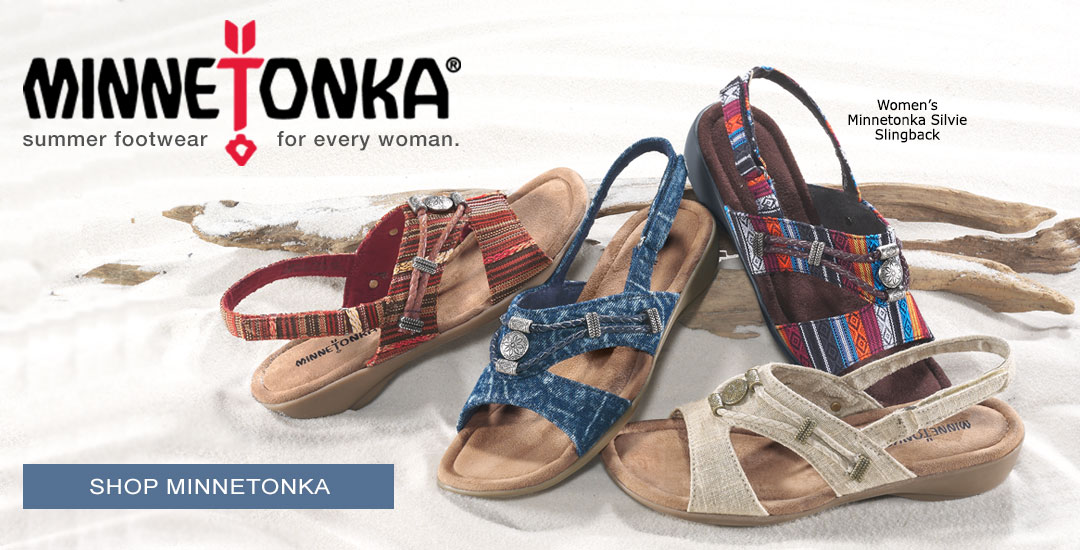 Summer Footwear for Every Woman - Shop Minnetonka.