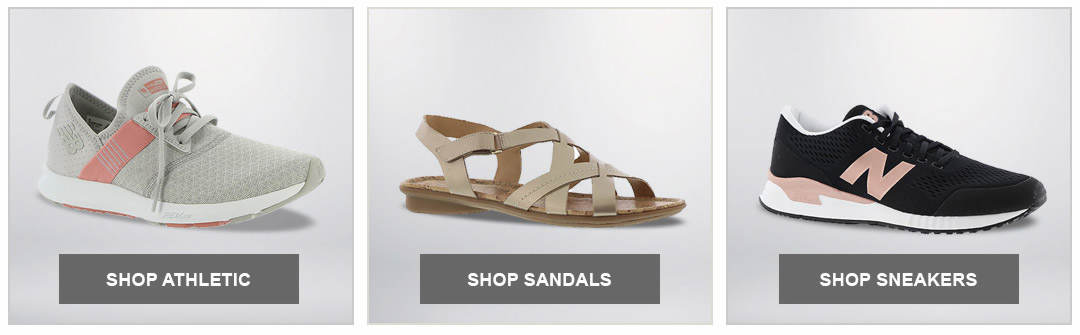 Shop Athletic, Sandal and Sneaker styles for Women