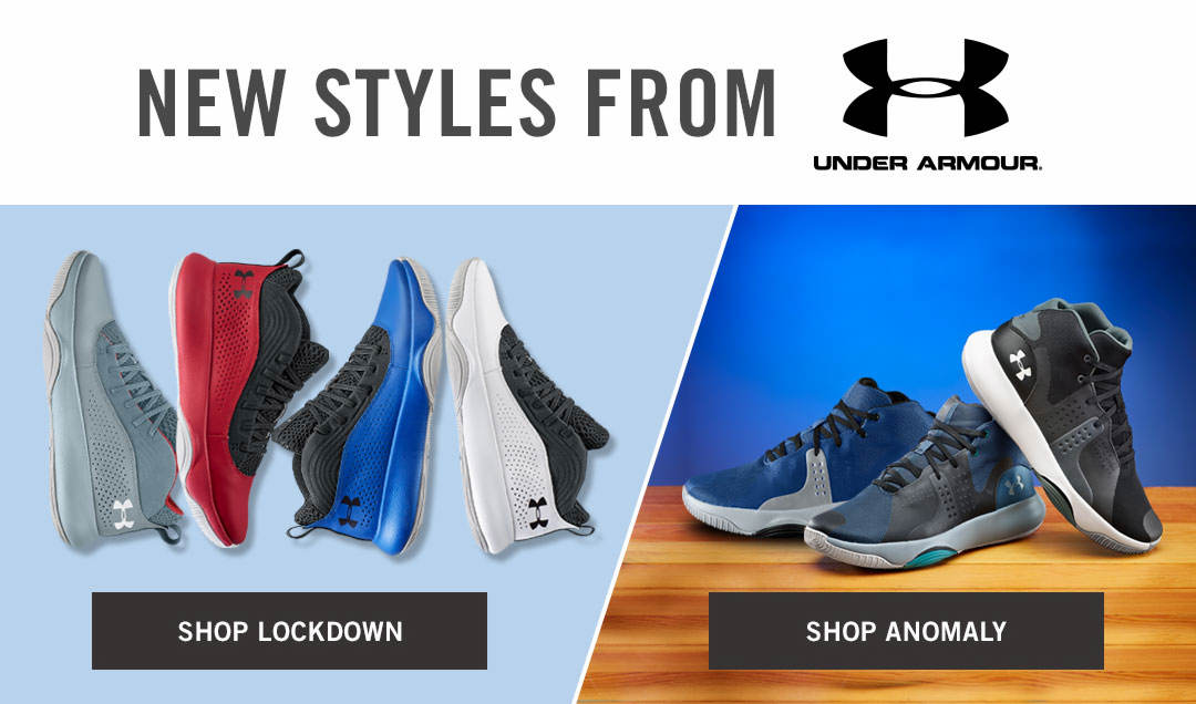 New Styles From Under Armour