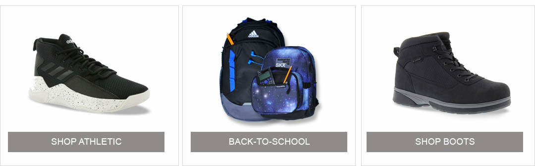 Shop Athletic, Back to School and Boots for Men